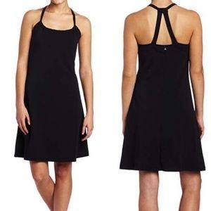 Prana Quinn dress black size Small